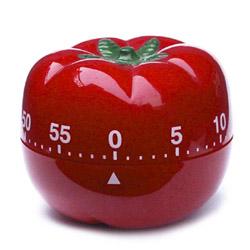 red tomato kitchen timer