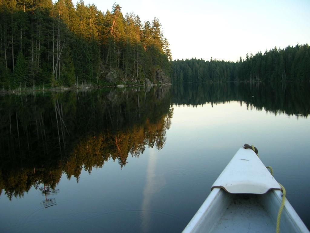 Still summer evening on Rosen Lake
