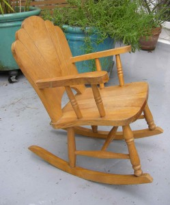 The diabolical rocking chair, free to good home.