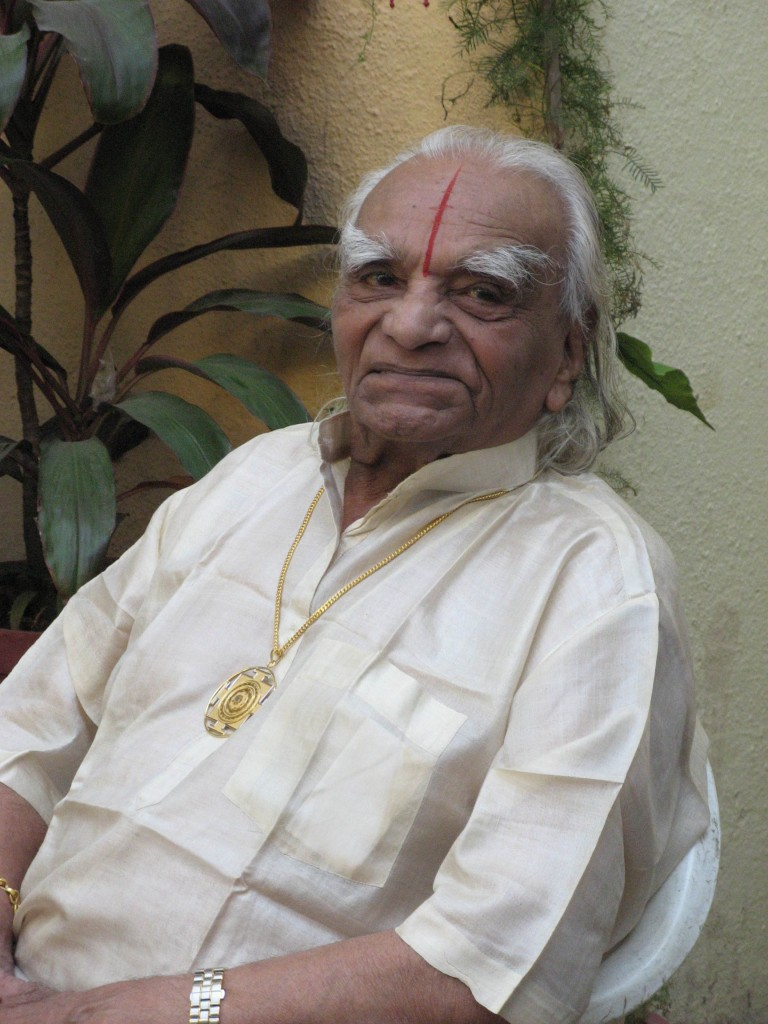 B.K.S. Iyengar on his 90th birthday – a clarity we might all wish for in our old age.