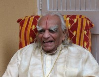 B.K.S. Iyengar, laughing