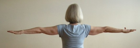 arms in Iyengar standing poses
