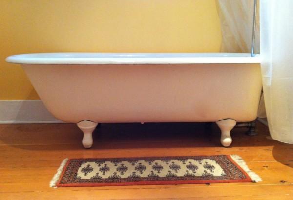yoga prop bathtub