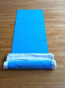 virasana roll sticky mat