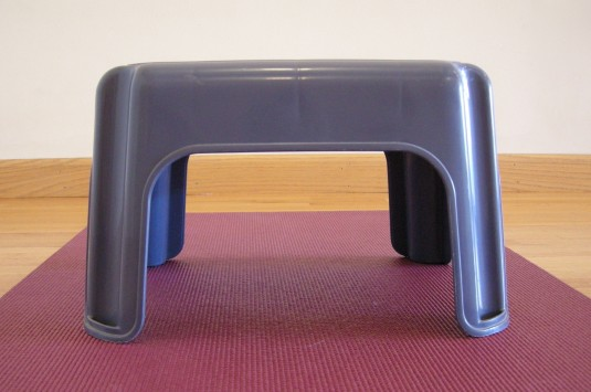 little plastic stool