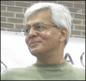 Jawahar from a conference in Glasgow in 2011.