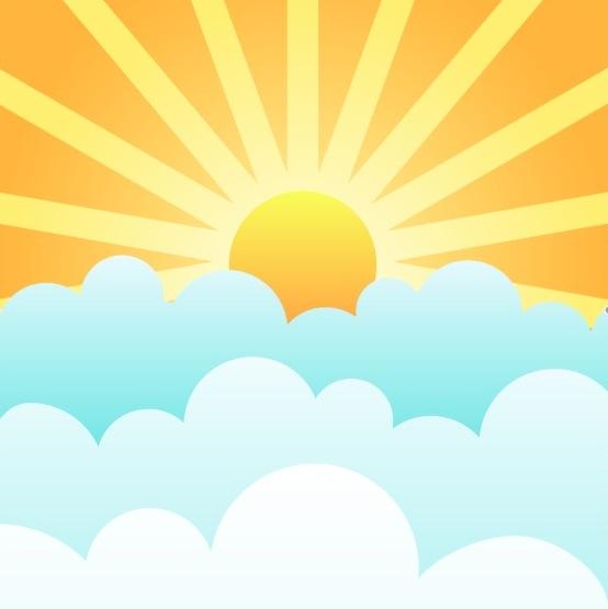 sun salutations sun