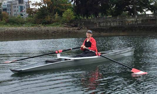 rowing and yoga